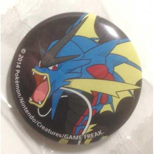 Pokemon Center 2014 Collectible Mega Pokemon Series #1 Mega Gyarados Metal Button