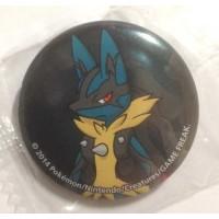 Pokemon Center 2014 Collectible Mega Pokemon Series #1 Mega Lucario Metal Button