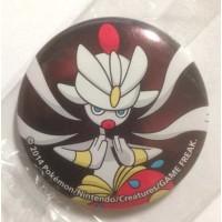 Pokemon Center 2014 Collectible Mega Pokemon Series #1 Mega Medicham Metal Button