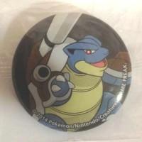 Pokemon Center 2014 Collectible Mega Pokemon Series #2 Mega Blastoise Metal Button