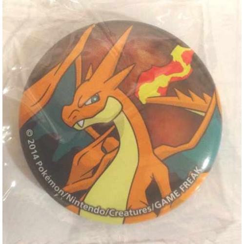 Pokemon Center 2014 Collectible Mega Pokemon Series #2 Mega Chaizard Y Metal Button