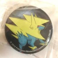 Pokemon Center 2014 Collectible Mega Pokemon Series #2 Mega Manectric Metal Button
