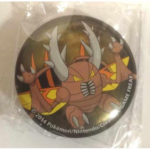 Pokemon Center 2014 Collectible Mega Pokemon Series #2 Mega Pinsir Metal Button