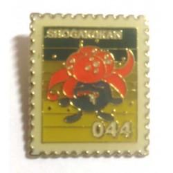 Pokemon 1998 Part 3 Hanada Gloom Metal Stamp Pin Badge