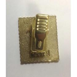 Pokemon 1998 Part 3 Hanada Oddish Metal Stamp Pin Badge