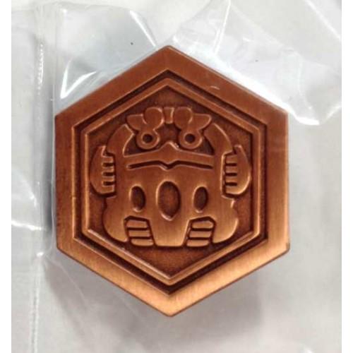 Pokemon 2014 Japanese Traditional Design Campaign Series #2 Darumaka Pin Badge