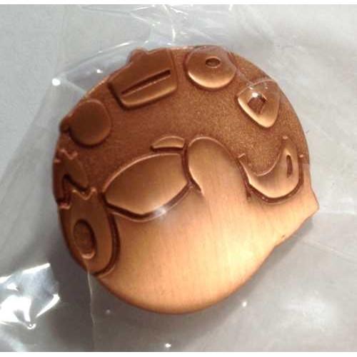Pokemon 2014 Japanese Traditional Design Campaign Series #2 Snorlax Pin Badge