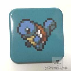 Pokemon Center 2016 Dot Sprite Campaign Squirtle Metal Button