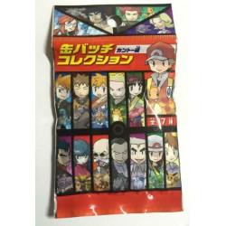 Pokemon Center 2016 Kanto Button Collection Bruno Machamp Large Size Metal Button