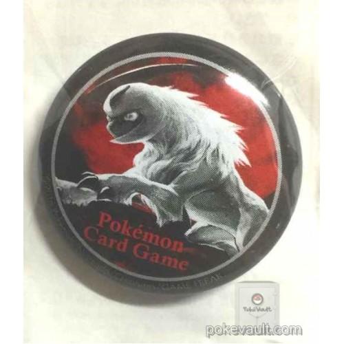 Pokemon 2016 Pokemon Card Gym Karen Night Battle Absol Tin Can Badge