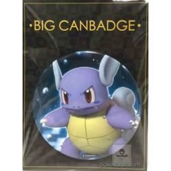 Pokemon Center 2016 Big Button Series #1 Wartortle Extra Large Size Metal Button #008