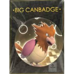 Pokemon Center 2016 Big Button Series #1 Spearow Extra Large Size Metal Button #021