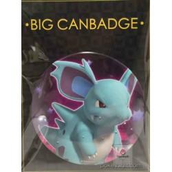 Pokemon Center 2016 Big Button Series #1 Nidorina Extra Large Size Metal Button #030