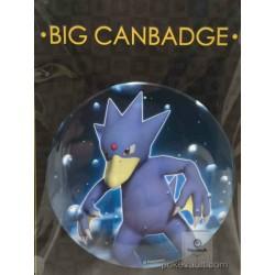 Pokemon Center 2016 Big Button Series #1 Golduck Extra Large Size Metal Button #055