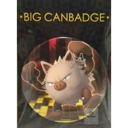Pokemon Center 2016 Big Button Series #1 Primeape Extra Large Size Metal Button #057