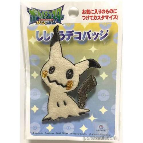 Pokemon Center 2016 Mimikyu Shishu Deco Badge