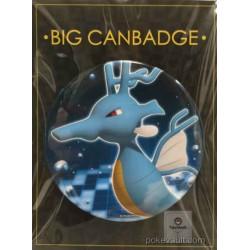 Pokemon Center 2017 Big Button Series #2 Kingdra Extra Large Size Metal Button #230