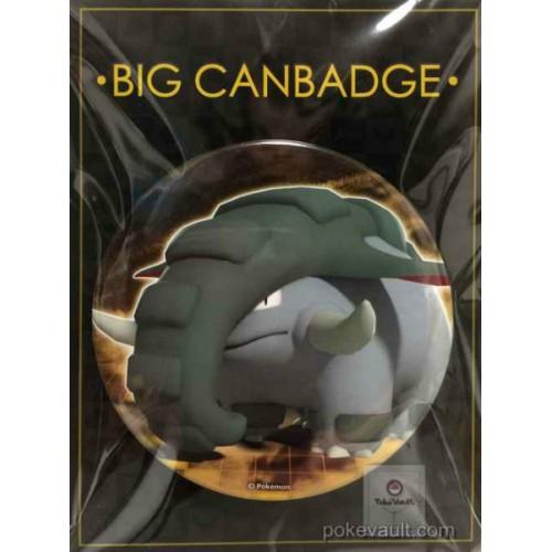 Pokemon Center 2017 Big Button Series #2 Donphan Extra Large Size Metal Button #232