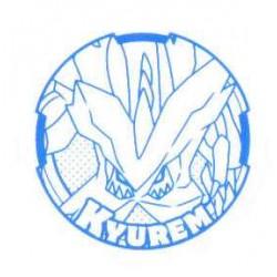 Pokemon 2012 Stamp Retusden Black & White Series #4 Kyurem Ink Stamper