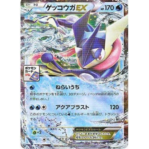 Pokemon 2014 Pokemon Card Gym Tournament Greninja EX Holofoil Promo Card #021/XY-P