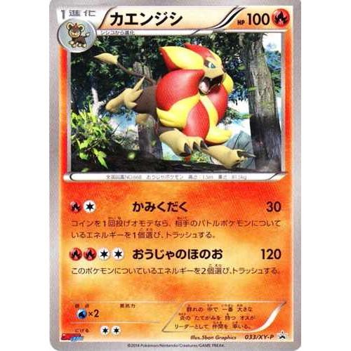 Pokemon 2014 Coro Coro Ichiban Pyroar (Male) Promo Card #033/XY-P