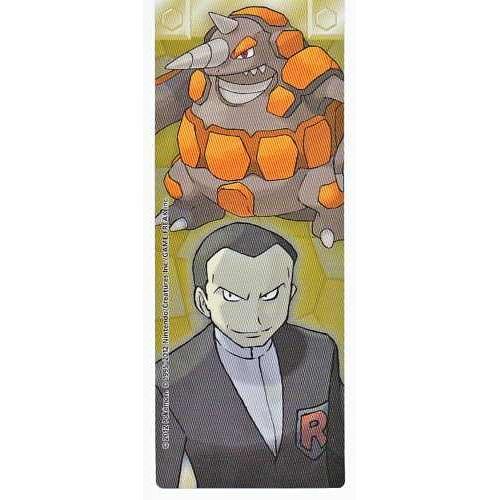 Pokemon Center 2012 Kanto Leaders Tournament Rhyperior Giovanni Bookmark
