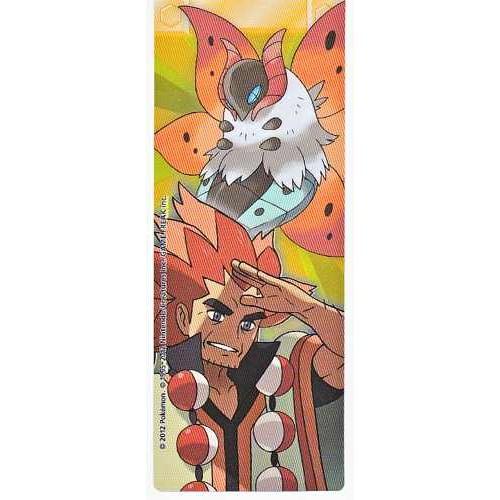 Pokemon Center 2012 Champions Tournament Volcarona Alder Bookmark