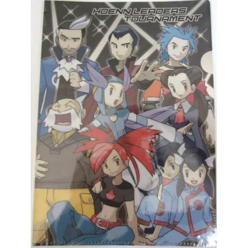 Pokemon Center 2012 Hoenn Leaders Tournament A4 Size Clear File Folder