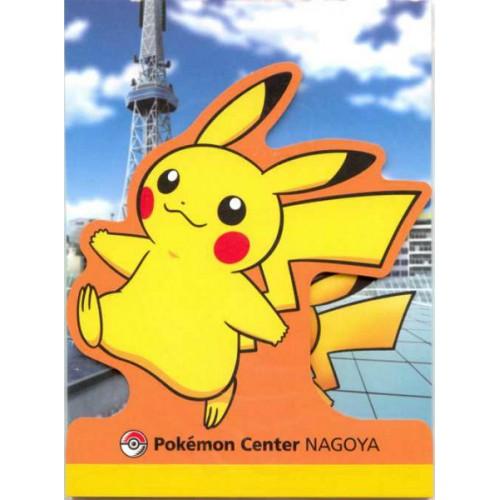 Pokemon Center Nagoya 2011 Pikachu Memo Pad