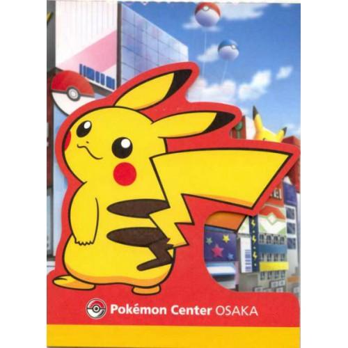 Pokemon Center Osaka 2011 Pikachu Memo Pad