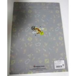 Pokemon Center 2012 Pokemon Time Campaign #4 Growlithe A4 Size Clear File Folder