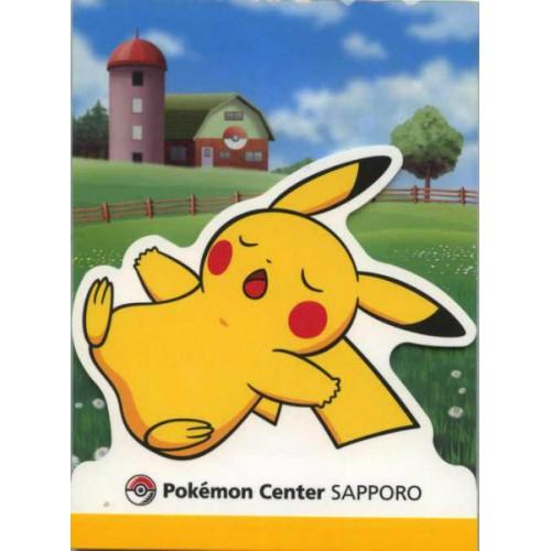 Pokemon Center Sapporo 2011 Pikachu Memo Pad