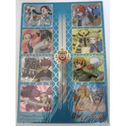 Pokemon Center 2012 Sinnoh Leaders Tournament A4 Size Clear File Folder
