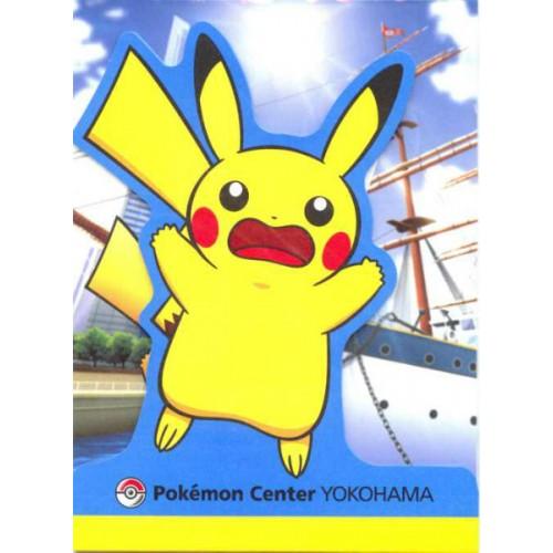 Pokemon Center Yokohama 2011 Pikachu Memo Pad