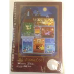 Pokemon Center 2012 La Maison De Eievui Eevee Loose Leaf Binder 100 Refill Pages