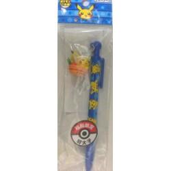 Pokemon Center Fukuoka 2012 Pikachu Mentaiko Mechanical Pencil With Figure Charm