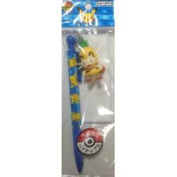 Pokemon Center Fukuoka 2013 Okinawa Meowth Pineapple Mechanical Pencil With Figure Charm