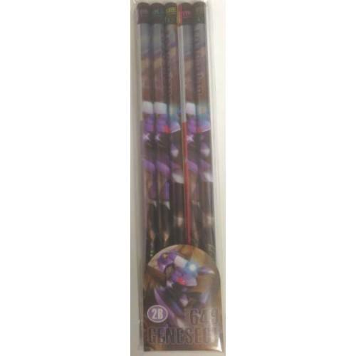 Pokemon Center 2012 Genesect Set of 5 Pencils
