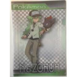 Pokemon Center 2013 N Zorua A4 Size Clear File Folder