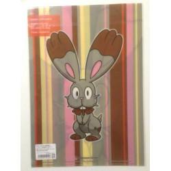 Pokemon Center 2013 Bunnelby A4 Size Clear File Folder