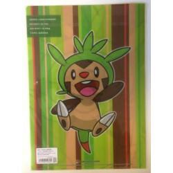 Pokemon Center 2013 Chespin A4 Size Clear File Folder