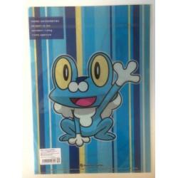 Pokemon Center 2013 Froakie A4 Size Clear File Folder