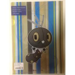 Pokemon Center 2013 Scatterbug A4 Size Clear File Folder
