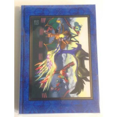 Pokemon Center 2014 Pokemon Gallery Collectible Art Campaign #2 Xerneas Hard Cover Notebook By Ken Sugimori