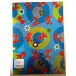 Pokemon Center 2014 Pokemon Time Campaign #7 Scizor A4 Size Clear File Folder