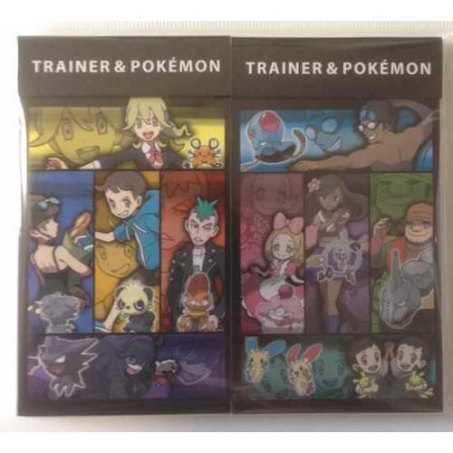 Pokemon Center 2014 Pokemon & Trainers Campaign Espurr Pancham Dedenne Trainers & Friends Set of 2 Memo Pads
