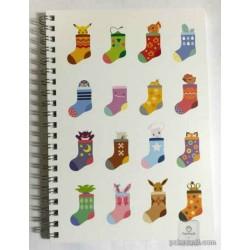 Pokemon Center 2014 Pokemikke Campaign #1 Eevee Sylveon Vulpix Mew & Friends Small Spiral Notebook (White Version)