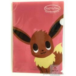 Pokemon Center 2015 Pokemon Time Campaign #8 Eevee A4 Size Clear File Folder