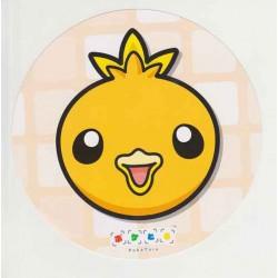 Pokemon Center 2015 Battle Trozei Poketoru Torchic Authentic Large Size Round Postcard Lottery Prize NOT SOLD IN STORES
