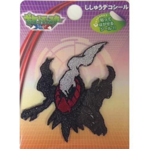 Pokemon Center 2014 Darkrai Embroidered Sticker